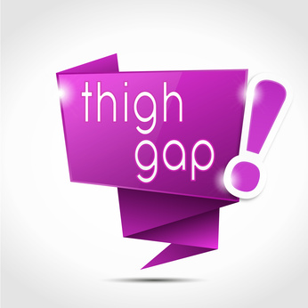 Le Thigh gap : les dangers d'une mode